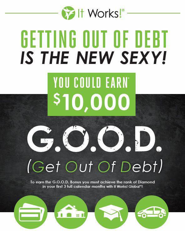 Join It Works and Work From Home.
